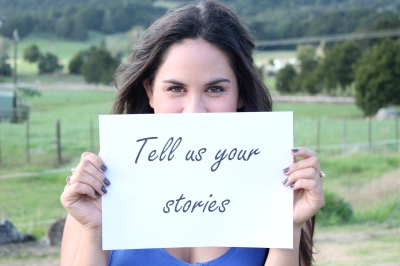 Tell us your stories 2